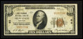 National Bank Notes:Wisconsin, Milwaukee, WI - $10 1929 Ty. 1 First Wisconsin NB Ch. # 64. ...
