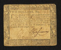 Colonial Notes:Maryland, Maryland August 14, 1776 $2 Very Good.. ...