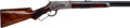 Long Guns:Lever Action, Cased Deluxe Winchester Model 1886 Lever Action Rifle....