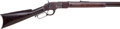 Long Guns:Lever Action, Winchester First Model 1873 Lever Action Rifle....