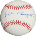 Miscellaneous Collectibles:General, Triple Crown Jockeys Multi Signed Baseball....