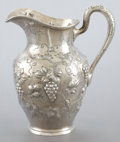 Silver Holloware, American:Pitchers, A SCHULTZ SILVER WATER PITCHER . A.G. Schultz & Co., Baltimore,Maryland, circa 1910. Marks: (hand) MADE, STERLING, 401, ...