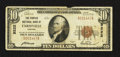 National Bank Notes:Virginia, Farmville, VA - $10 1929 Ty. 1 The Peoples NB Ch. # 9222. ...