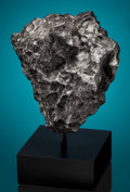 "Meteorites:Irons, NATURAL SCULPTURE FROM OUTER SPACE - QUINTESSENCE OF AN IRON METEORITE, FROM ARGENTINA'S ""VALLEY OF THE SKY"". ..."