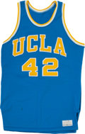 Basketball Collectibles:Uniforms, Late 1970's UCLA Bruins Game Worn Jersey....