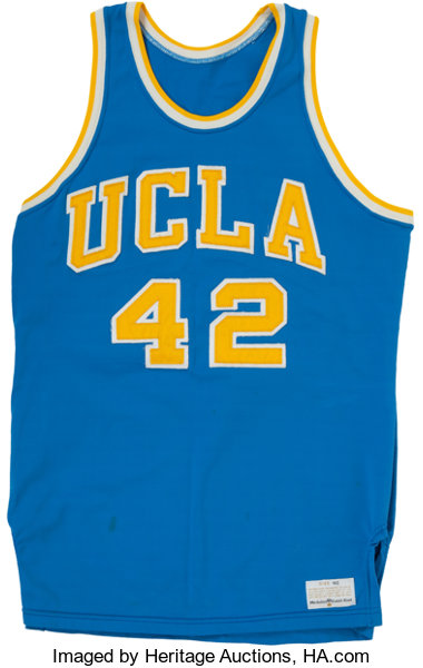 new product ed682 3fd41 Late 1970's UCLA Bruins Game Worn Jersey.... Basketball ...