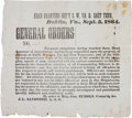 Miscellaneous:Broadside, [Confederate States Broadside]. General John Echols GeneralOrders....