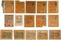 "Football Collectibles:Tickets, 1925-36 '26 and '27 World Champion New York Giants and CollegeFootball Ticket Stubs Lot of 20 - With 1928 ""Win One For The Gi..."