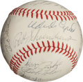 Autographs:Baseballs, 1968 St. Louis Cardinals Team Signed Baseball....