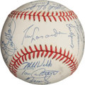 Autographs:Baseballs, 1993 Los Angeles Dodgers Team Signed Baseball....