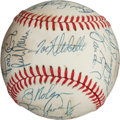 Autographs:Baseballs, 1983 Baltimore Orioles Team Signed Baseball....