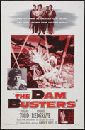 "Movie Posters:War, The Dam Busters (Warner Brothers, 1955). One Sheet (27"" X 41"").War.. ..."