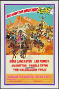 """Movie Posters:Western, The Hallelujah Trail (United Artists, 1965). One Sheet (27"""" X 41""""). Western.. ..."""