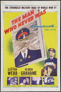 """Movie Posters:Mystery, The Man Who Never Was (20th Century Fox, 1956). One Sheet (27"""" X 41""""). Mystery.. ..."""