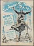 """Movie Posters:Musical, An American in Paris (MGM, R-1964). French Affiche (23.5"""" X 31.5"""").Musical.. ..."""
