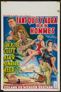 "Movie Posters:Academy Award Winners, From Here to Eternity (Columbia, 1953). Belgian (14"" X 22"").Academy Award Winners.. ..."