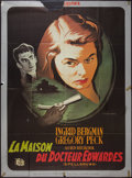 """Movie Posters:Hitchcock, Spellbound (United Artists, R-1980s). French Grande (45.5"""" X 61.5""""). Hitchcock.. ..."""