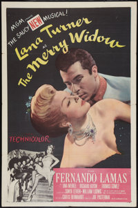 "The Merry Widow (MGM, 1952). One Sheet (27"" X 41""). Musical"
