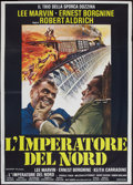 "Movie Posters:Action, Emperor of the North (20th Century Fox, 1973). Italian 2 - Foglio(39"" X 55""). Action.. ..."