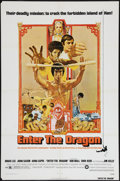 """Movie Posters:Action, Enter the Dragon (Warner Brothers, 1973). One Sheet (27"""" X 41"""").Action.. ..."""