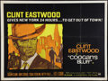 "Movie Posters:Crime, Coogan's Bluff (Universal, 1968). British Quad (30"" X 40""). Crime....."