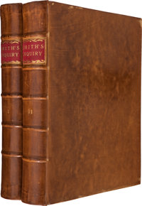 Adam Smith. An Inquiry into the Nature and Causes of the Wealth of Nations. London: Printed for