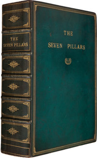 T. E. Lawrence. Seven Pillars of Wisdom. A Triumph. [London: For the Author by Manning Pike and