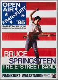 "Movie Posters:Rock and Roll, Bruce Springsteen Concert Poster (Mama Concerts, 1985). GermanConcert Poster (23"" X 32""). Rock and Roll.. ..."