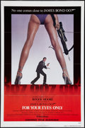 """Movie Posters:James Bond, For Your Eyes Only (United Artists, 1981). One Sheet (27"""" X 41""""). Advance. James Bond.. ..."""