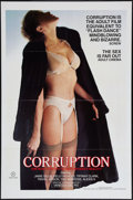 """Movie Posters:Adult, Corruption (Big Apple, 1983). One Sheet (27"""" X 41""""). Adult.. ..."""