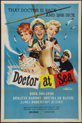 """Movie Posters:Comedy, Doctor at Sea (Republic, 1955). One Sheet (27"""" X 41""""). Comedy.. ..."""