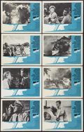 """Movie Posters:War, In Harm's Way (Paramount, 1965). Lobby Card Set of 8 (11"""" X 14"""").War.. ... (Total: 8 Items)"""