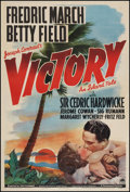 "Movie Posters:Adventure, Victory (Paramount, 1940). One Sheet (27"" X 41""). Adventure.. ..."