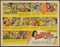 "Jungle Book (United Artists, 1942). Half Sheet (22"" X 28""). Adventure"