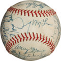 Autographs:Baseballs, 1968 Detroit Tigers Team Signed Baseball with Casey Stengel....