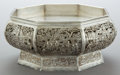 Silver & Vertu:Hollowware, A CHINESE EXPORT SILVER CENTER BOWL . Maker unknown, China, circa 1900. Marks: (chop mark). 8-1/4 inches diameter (21.0 cm)...