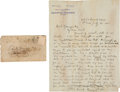 Autographs:Military Figures, [Cole Younger]. Emory S. Foster Autograph Letter Signed....