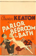 "Movie Posters:Comedy, Parlor, Bedroom And Bath (MGM, 1931). Window Card (14"" X 22"").. ..."
