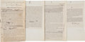 Autographs:U.S. Presidents, Rutherford B. Hayes Speech Twice Signed...