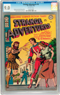 Golden Age (1938-1955):Science Fiction, Strange Adventures #19 (DC, 1952) CGC VF/NM 9.0 Off-white pages....