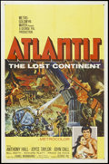 "Movie Posters:Adventure, Atlantis, the Lost Continent (MGM, 1961). One Sheet (27"" X 41"").Sci-Fi Adventure. Starring Anthony Hall, Joyce Taylor, John..."