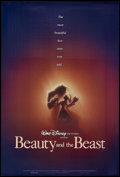 "Movie Posters:Animated, Beauty and the Beast (Buena Vista, 1991). One Sheet (27"" X 41"")Double Sided. Animated. Starring the voices of Paige O'Hara,..."