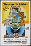 """Movie Posters:Science Fiction, A Boy and His Dog (LQ/Jaf, 1975). One Sheet (27"""" X 41""""). Science Fiction. Starring Don Johnson, Susanne Benton, Alvy Moore a..."""