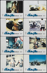 "Electra Glide in Blue (United Artists, 1973). Lobby Card Set of 8 (11"" X 14""). Action. Starring Robert Blake..."