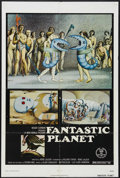 """Movie Posters:Animated, Fantastic Planet (New World Pictures, 1973). One Sheet (27"""" X 41"""").Animated Sci-Fi. Starring the voices of Jennifer Drake, ..."""