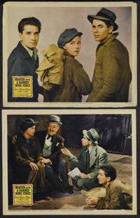 "Heaven With a Barbed Wire Fence (20th Century Fox, 1939). Lobby Cards (2) (11"" X 14""). Drama.... (Total: 2 Ite..."