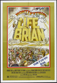 "Life of Brian (Orion, 1979). One Sheet (27"" X 41""). Comedy. Starring Monty Python: Graham Chapman, Terry Jones..."