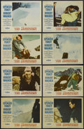 """Movie Posters:Drama, The Mountain (Paramount, 1956). Lobby Card Set of 8 (11"""" X 14""""). Drama. Starring Spencer Tracy, Robert Wagner, Claire Trevor... (Total: 8 Item)"""