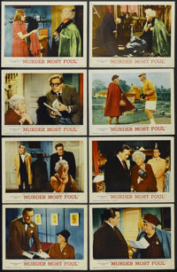 "Murder Most Foul (MGM, 1964). Lobby Card Set of 8 (11"" X 14""). Mystery Comedy. Starring Margaret Rutherford, R..."