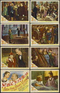 """Music for Millions (MGM, 1945). Lobby Card Set of 8 (11"""" X 14""""). Musical Comedy. Starring Margaret O'Brien, Jo..."""